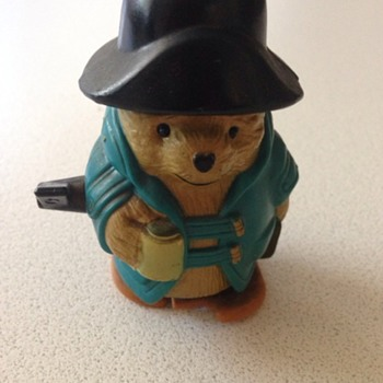 Wind up toy - Paddington Bear