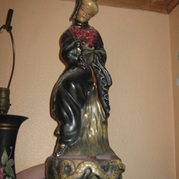 One of the Two Oriental Lamps