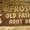 Old &quot;Drink Frostie&quot; Sign