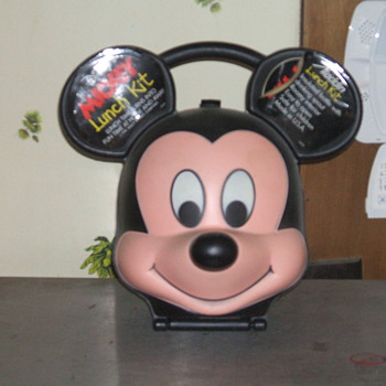 Aladdin Mickey Lunchbox 1989