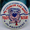 Yogi Bear For President 1964 Campaign