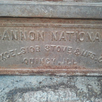 Cannon National potbelly stove