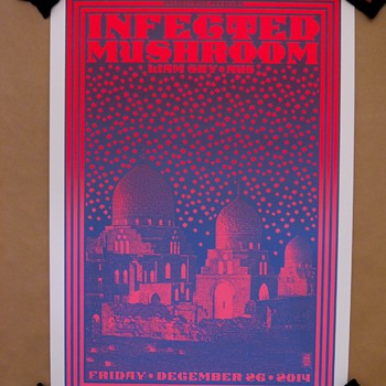 Infected Mushroom, by Chuck Sperry, 2014 - Posters and Prints
