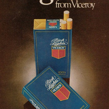 1979 - Viceroy Cigarettes Advertisement