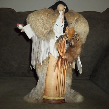 Native American No Face Doll by Jeanenne Lester