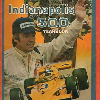 1974 Indianapolis 500 Yearbook - Paper