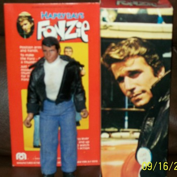 70s Mego Fonzie Action Figure