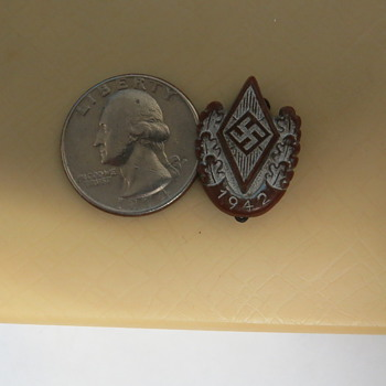 1942 German Youth Sportfest Participation Pin