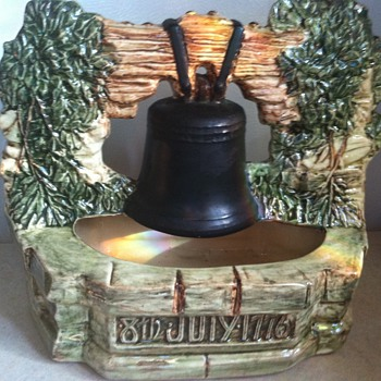 McCoy Liberty Bell wrong date - Art Pottery