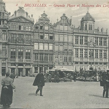 3. BRUXELLES. – GRANDE PLACE ET MAISONS DES CORPORATIONS. - Postcards