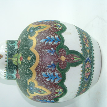 Large Asian Jar W/ Lid chinese ginger jar?