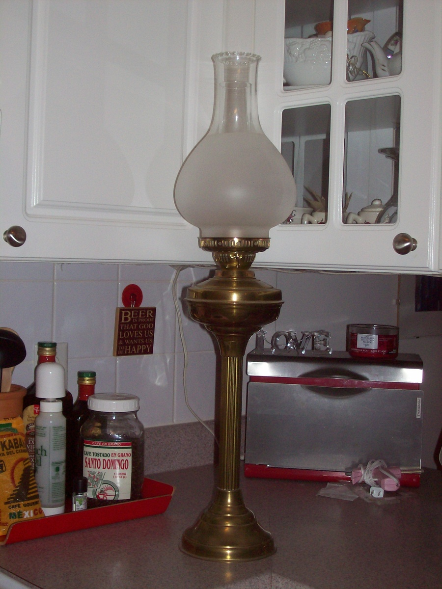 how to stop oil lamp wick