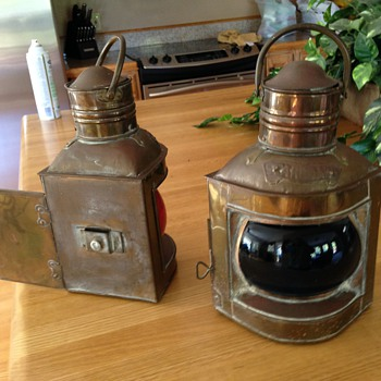 Oil Lamps,  boat or caboose? - Lamps