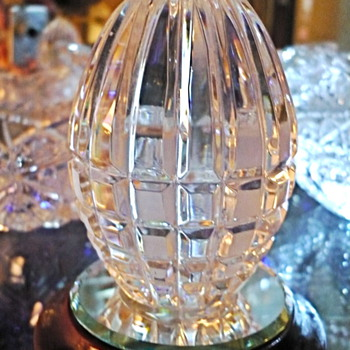 My Newest Crystal Eggs - Glassware