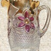 Cranberry Pitcher with Gold - What is it?