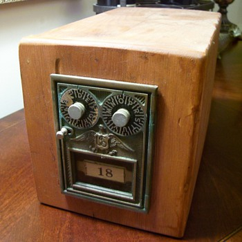 Vintage Safety Deposit Box (I think) - Office