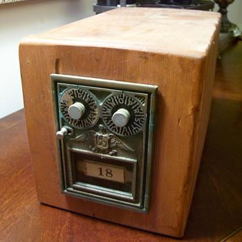 Vintage Safety Deposit Box (I think) - Office