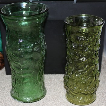 Some more E.O. Brody vases - Glassware