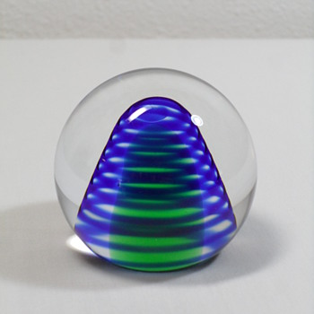 Beranek Paperweight - Art Glass