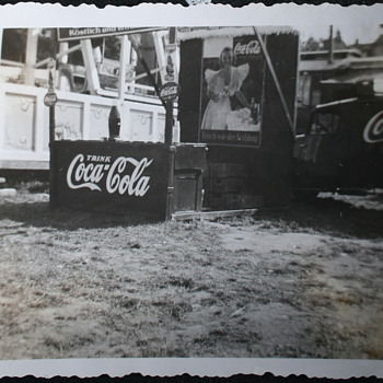 county Fair / Jahrmarkt 1938 Germany  - Coca-Cola