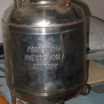 Coca Cola Soda Keg