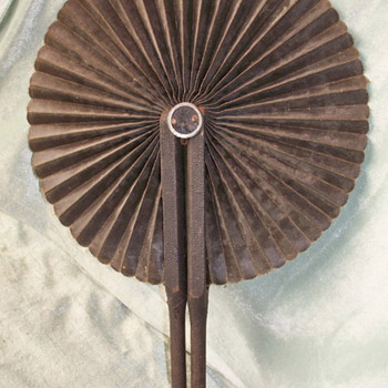 Fan With Handles That Hook Closed