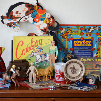 My Cowboy Toy Collection (And a few Extra Things!)