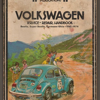 Clymer Volkswagen Repair Manual - Classic Cars