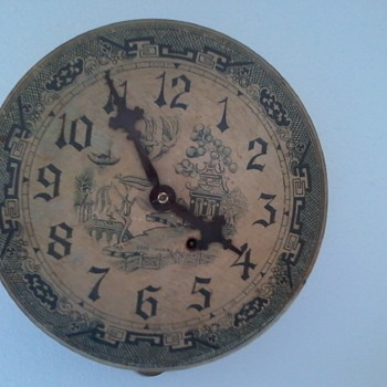 Seth thomas clock found at a garage sale.