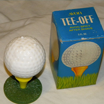 "Avon ""Tee-Off"" Decanter"