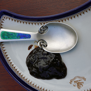 Knox Jam spoon - Sterling Silver