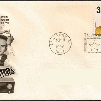 "1996 - ""Hoagy Carmichael"" Stamp First Day Cover"