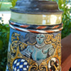 Great Grandfather's MET LACH 1890 Beer Stein