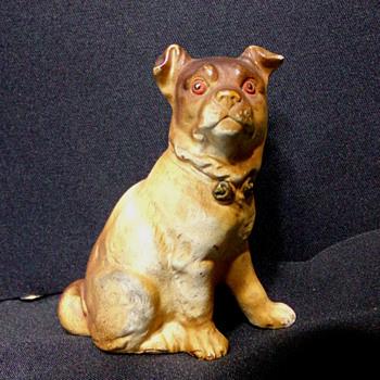 Pre-WW2 Dog Figurine  - Animals
