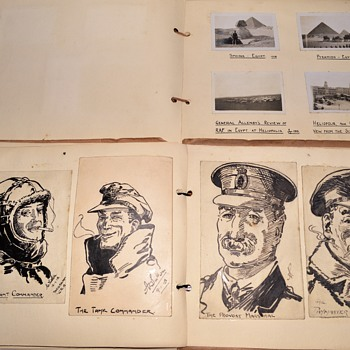 Private WWI Photo Album - Military and Wartime
