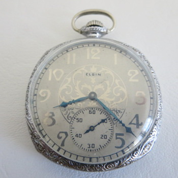 Elgin Grade 345 Pocket Watch - Pocket Watches
