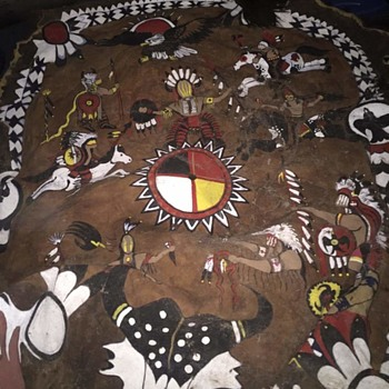 NATIVE AMERICAN BUFFALO ROBE