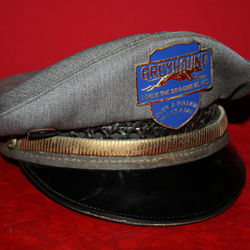 greyhound bus driver hat