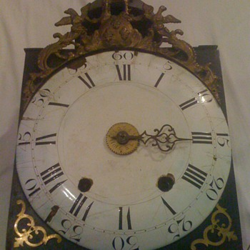 ANTIQUE FRENCH CLOCK - Clocks