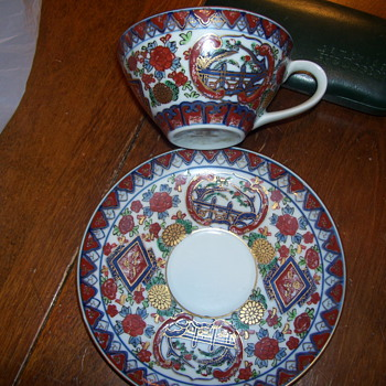 gold imari - China and Dinnerware