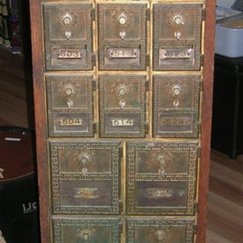 Old Post Office Boxes