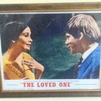 """The Loved One"" Lobby Card - Movies"