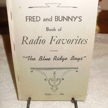 Fred and Bunny's Radio favorites  - Music