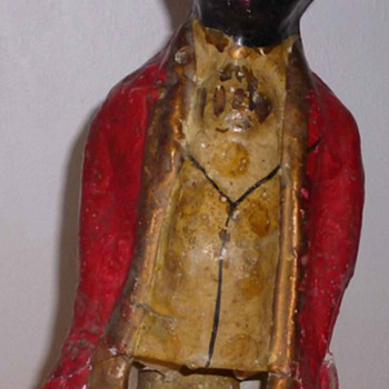 antebellum black memorabilia,painted papier maché  - Figurines