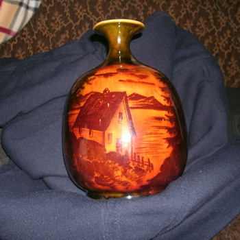 Mystery Vase Maker, Mark, & Initials - Art Pottery
