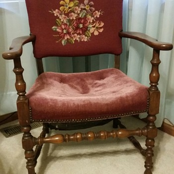 Tapestry chair - Furniture