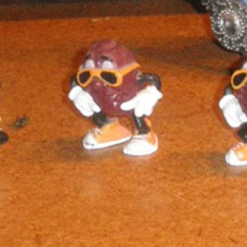 California Raisins from Hardee's - Toys