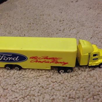 Ford Race Car Transportation Truck