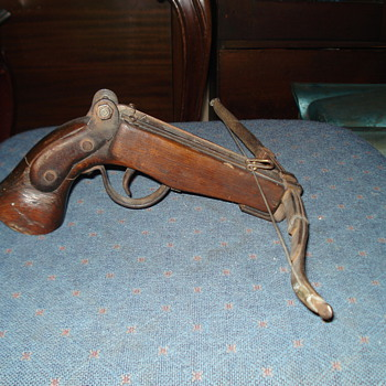 Vintage Antique Cross Bow Pistol