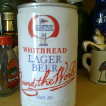 Round the World Whitbread Lager Beer 1985-86